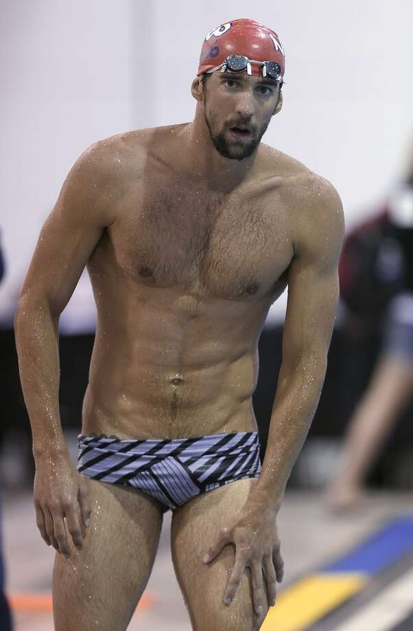Michael Phelps Photo: Chuck Burton, Associated Press