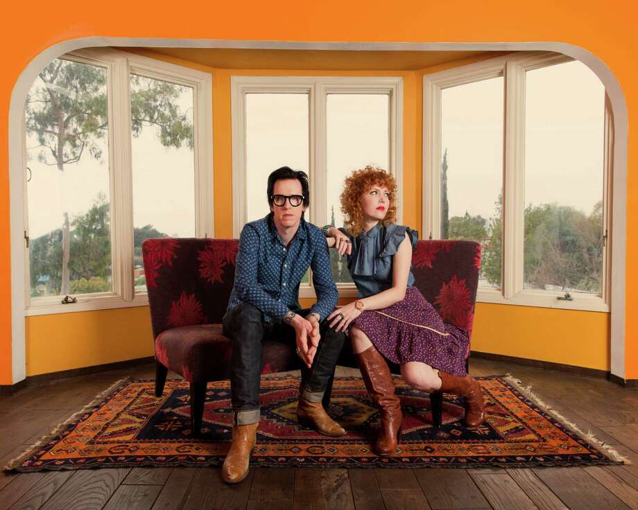 The Mastersons are Chris Masterson and Eleanor Whitmore Photo: Joseph Llanes