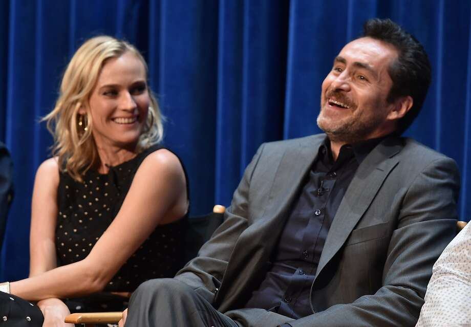 "Diane Kruger and Demián Bichir are returning for a second season of the FX series ""The Bridge."" Photo: Alberto E. Rodriguez, Getty Images"
