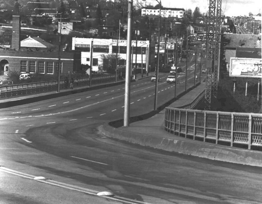 12th Avenue South Bridge -- 12th Avenue South over Dearborn Street -- Added to the National Register of Historic Places on July 16, 1982. Photo: National Register Of Historic Places