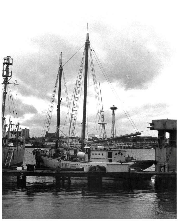 ZODIAC schooner -- Lake Union Dry Dock -- Added to the National Register of Historic Places on April 29, 1982. Photo: National Register Of Historic Places