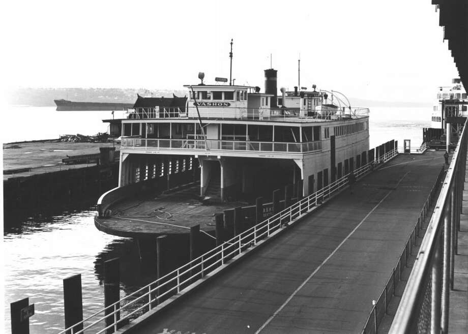 M.V. VASHON -- Pier 52 -- Added to the National Register of Historic Places on April 29, 1982. Photo: National Register Of Historic Places