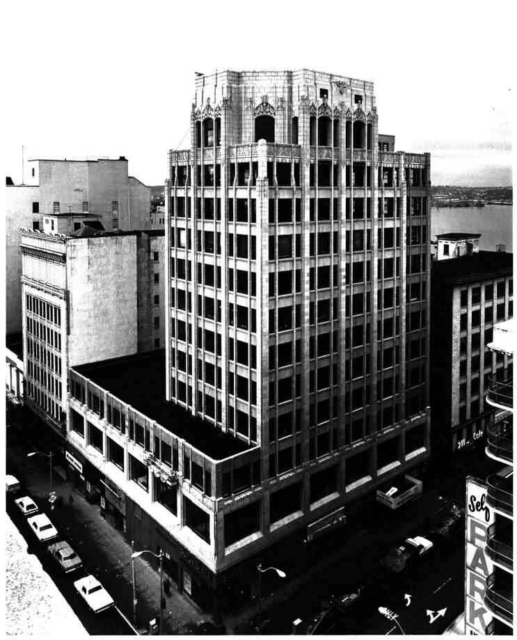 United Shopping Tower -- 217 Pine St. -- Added to the National Register of Historic Places on Aug. 18, 1980. Photo: National Register Of Historic Places
