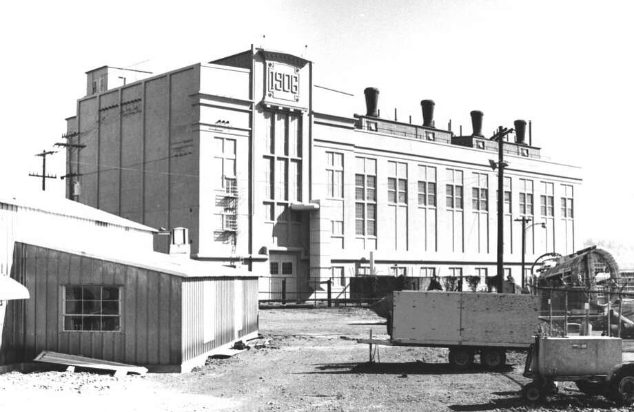 Seattle Electric Company Georgetown Steam Plant -- Off state Route 99 at King County Airport -- Added to the National Register of Historic Places on Aug. 1, 1978. Photo: National Register Of Historic Places