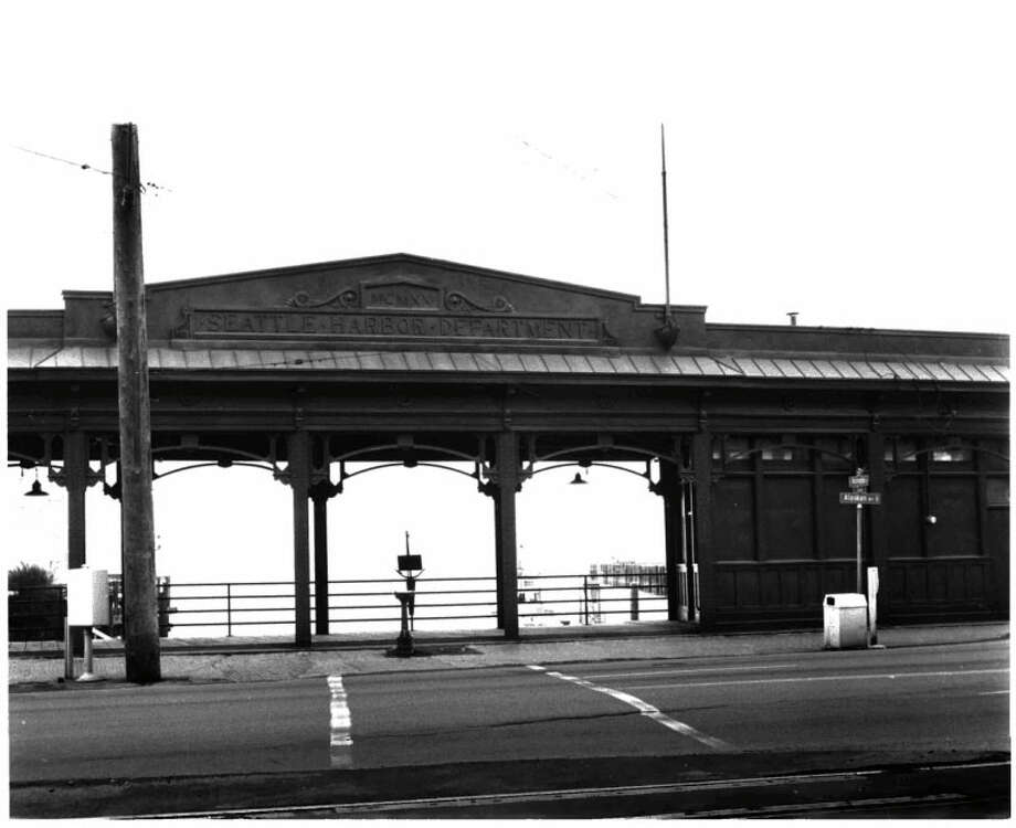 Washington Street Public Boat Landing Facility -- South Washington Street west of Alaskan Way -- Added to the National Register of Historic Places on June 10, 1974. Photo: National Register Of Historic Places