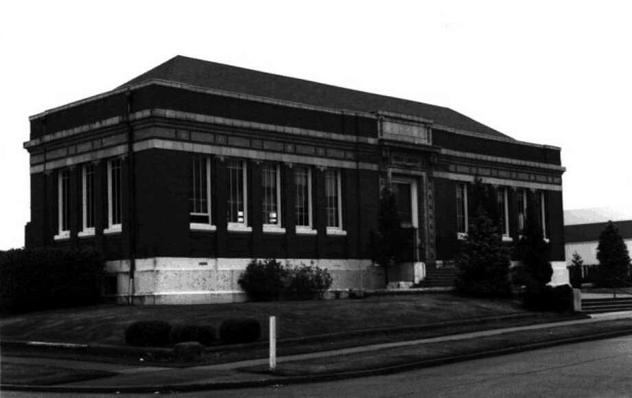 Seattle Public Library -- 2306 42nd Ave. S.W. -- Added to the National Register of Historic Places on Aug. 3, 1982. Photo: National Register Of Historic Places