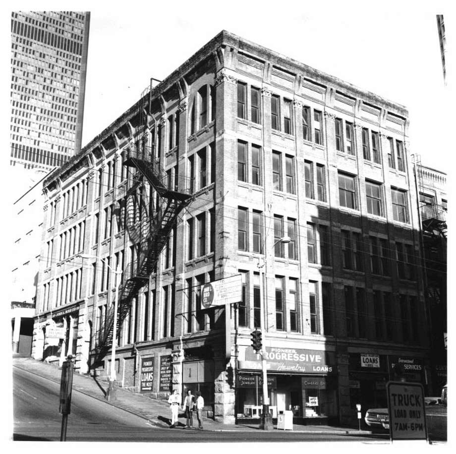 Holyoke Building -- 1018--1022 1st Ave.  -- Added to the National Register of Historic Places on June 3, 1976. Photo: National Register Of Historic Places