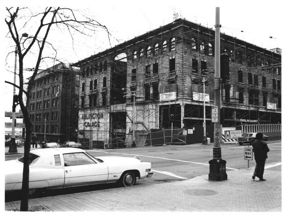 Globe Building, Beebe Building and Hotel Cecil -- 1001-1023 1st Ave. -- Added to the National Register of Historic Places on April 29, 1982. Photo: National Register Of Historic Places