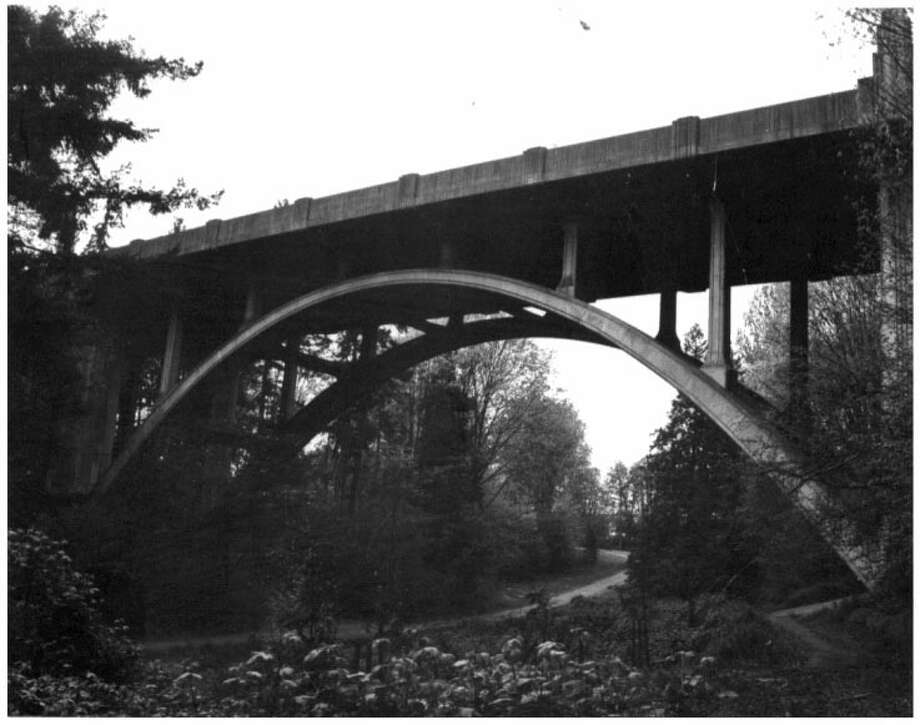 Cowen Park Bridge -- 15th Avenue North at Cowen Park -- Added to the National Register of Historic Places on July 16, 1982. Photo: National Register Of Historic Places