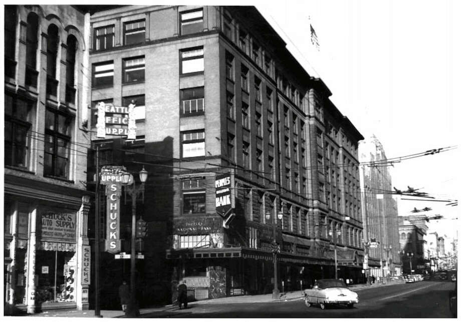 Colman Building -- 811 1st Ave. – Added to the National Register of Historic Places on March 16, 1972. Photo: National Register Of Historic Places