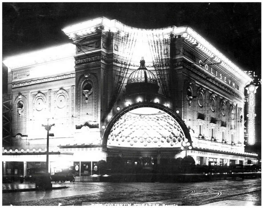 Coliseum Theater -- 5th Avenue and Pike Street -- Added to the National Register of Historic Places on July 7, 1975. Photo: National Register Of Historic Places