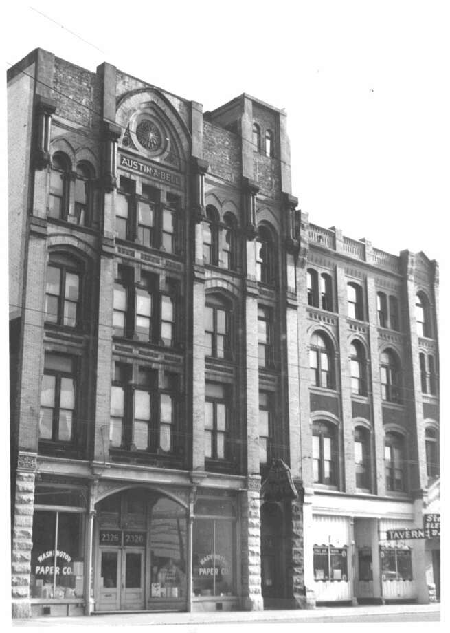 Bell Apartments -- 2326 1st Ave. -- Added to the National Register of Historic Places on July 12, 1974. Photo: National Register Of Historic Places