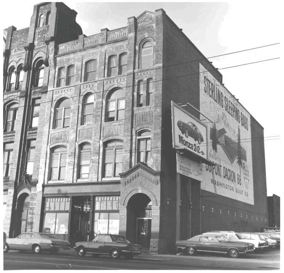 Barnes Building -- 2320--2322 1st Ave. -- Added to the National Register of Historic Places on Feb. 24, 1975. Photo: National Register Of Historic Places
