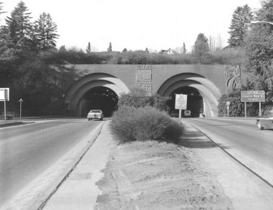 Mount Baker Ridge Tunnel -- Interstate 90 -- Added to the National Register of Historic Places on July 16, 1982. Photo: National Register Of Historic Places