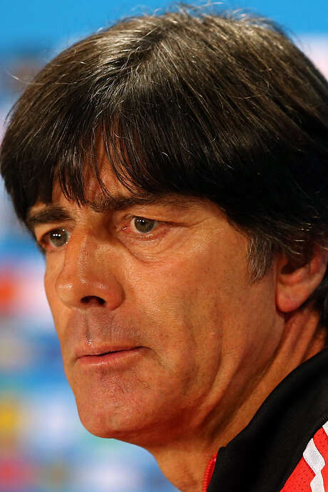 Joachim Loew wants the referee to watch for rough play in semi. / 2014 Getty Images