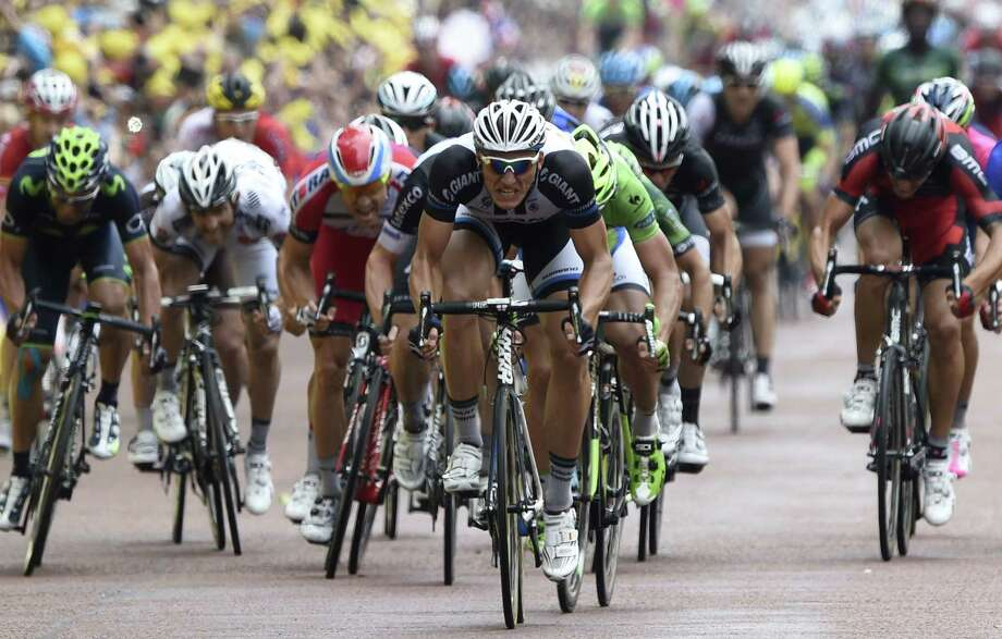 Germany's Marcel Kittel wins the 96-mile Stage 3 of the Tour de France in London. The race resumes Tuesday in France. Photo: Eric Feferberg / Getty Images / ERIC FEFERBERG