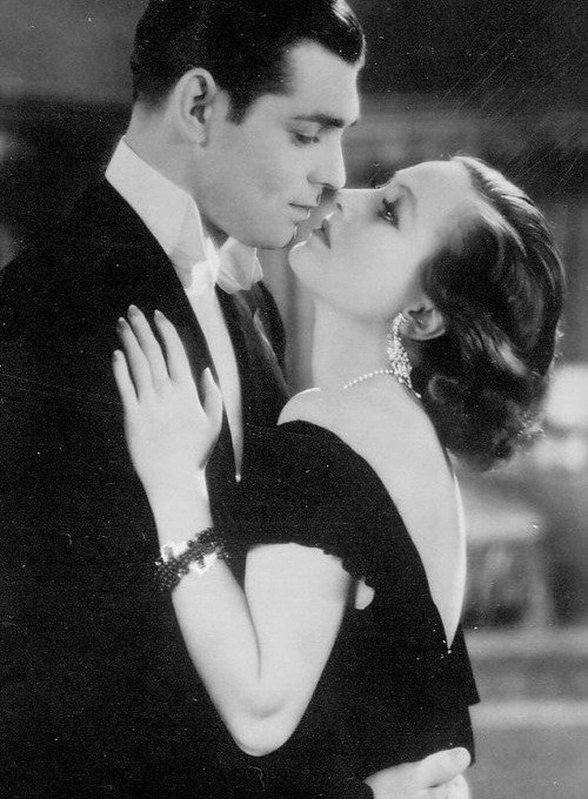 """Clark Gable and Joan Crawford in """"Possessed"""": They had chemistry."""