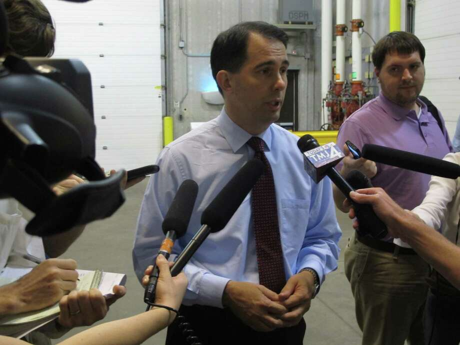 An investigation into alleged campaign law violations has not yet determined if Wisconsin Gov. Scott Walker can be charged. Photo: Scott Bauer, Associated Press / AP