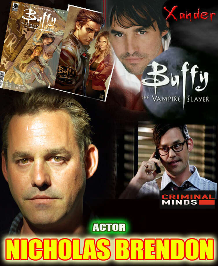 """Buffy The Vampire Slayer"" star Nicholas Brendon will be on hand for ComiCONN 2014, to be held at Bridgeport's Webster Bank Arena Aug. 15-17."