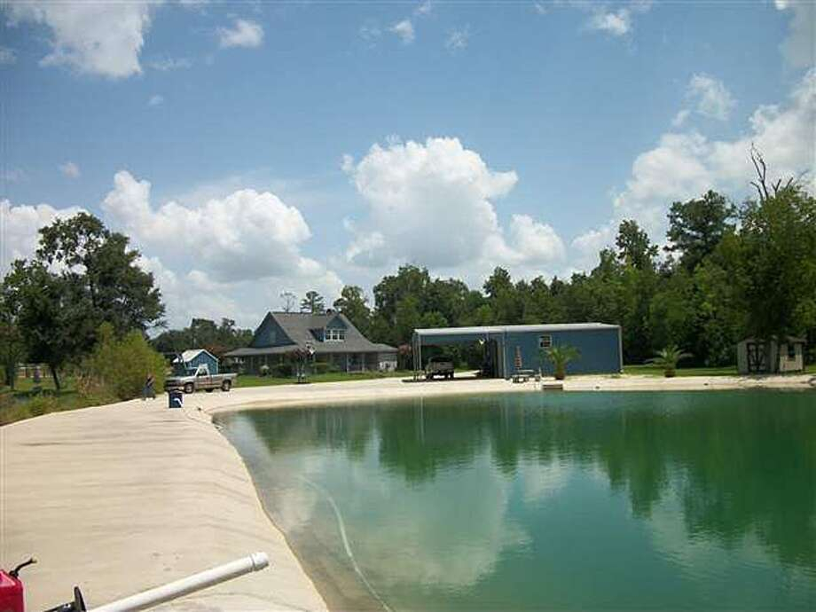 12525 I H 10 E, Orange: $1,100,000The home also offers a 3-acre spring-fed pond and swimming pool. Photo: Zillow