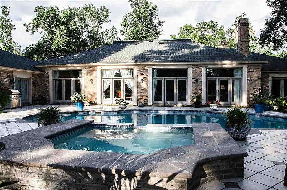 1380 Audubon Pl, Beaumont: $1,125,000The 1.06 acre lot features a custom swimming pool. Photo: Zillow