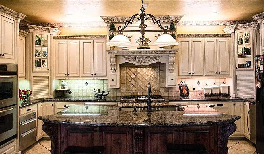 1380 Audubon Pl, Beaumont: $1,125,000The kitchen features a large island and double ovens. Photo: Zillow