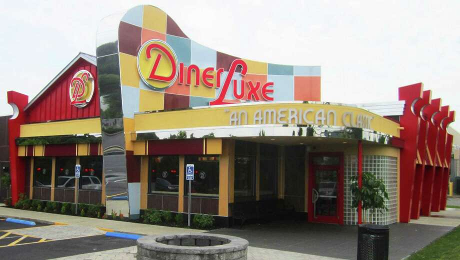 The Diner Luxe in New Milford is futuristic in a delightfully retro way. Photo: Norm Cummings / The News-Times