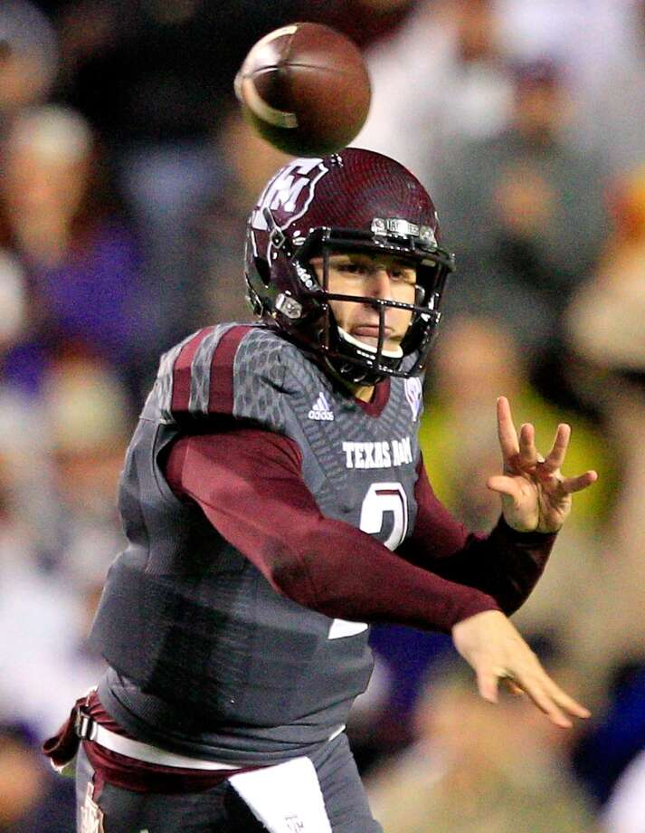 7,820 yards passing, including A&M record 4,114 in 2013 Photo: Sean Gardner, Getty Images