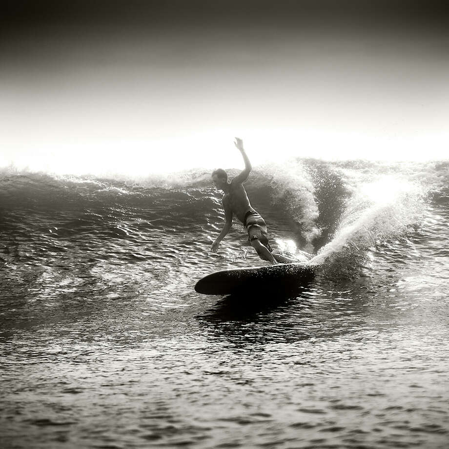 """Hurricane Isaac #1, South Padre Island, 2012"" from Kenny Braun's photographic essay ""Surf Texas."""