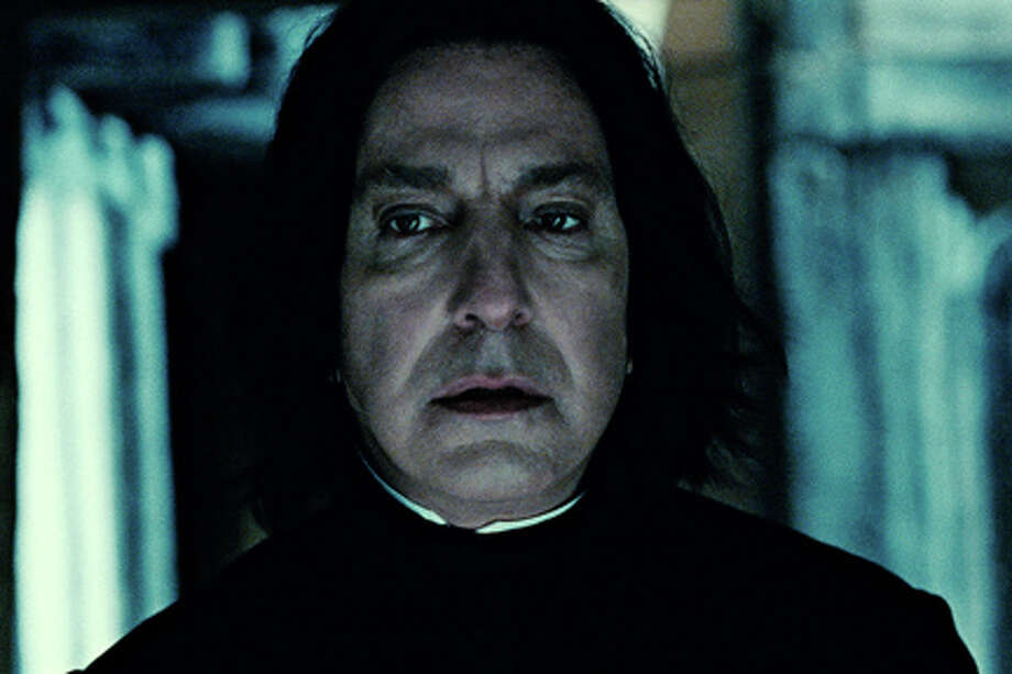 "Harry Potter stars mourn Alan RickmanAlan Rickman, the movie star who played Professor Severus Snape in the ""Harry Potter"" films, died this week at age 69. Here's how his co-stars and author J.K. Rowling remembered the acting great. Photo: Photo Courtesy Of Warner Bros. Pictures, Courtesy Of Warner Bros Pictures / (C) 2011 WARNER BROS. ENTERTAINMENT INC. HARRY POTTER PUBLISHING RIGHTS (C) J.K.R.  HARRY POTTER CHARACTERS, NAMES AND RELATED INDICIA ARE TRADEMARKS OF AND (C) WARNER BROS. ENT.  ALL RIGHTS RESERVED"
