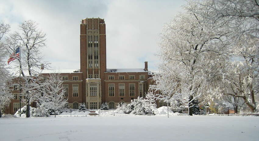 9. Denver : Score 49.49. The University of Denver, shown here, recently launched a STEM initiative to expand its engineering and computer science student and faculty populations by 30 percent, according to NerdWallet.