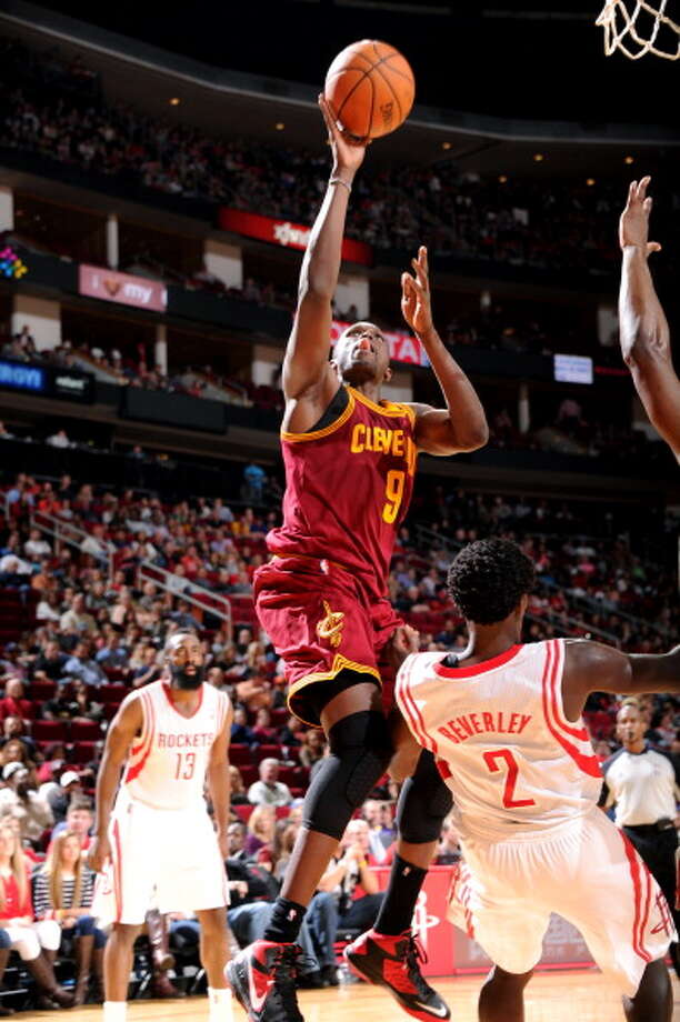 Luol Deng Small forward Status: UnrestrictedThe Rockets are among several teams -- Hawks, Heat, Lakers, Mavs -- who have expressed interest in the versatile forward. Photo: Bill Baptist, NBAE/Getty Images / 2014 NBAE