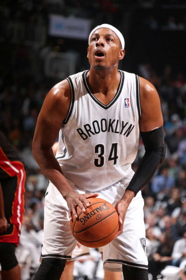 Paul Pierce Small forward Status: Unrestricted  The Rockets could use what the veteran offers: shot-making ability, solid defense and veteran leadership. The Rockets contacted the 36-year-old early in the free-agent process, though it appears the Nets and Clippers are the front-runners for his services. Pierce is reportedly seeking a two-year deal, worth $10 million per year. Photo: Nathaniel S. Butler, NBAE/Getty Images / 2013 NBAE