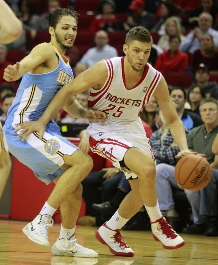 Chandler Parsons Small forward Status: The restricted free agent has agreed to a three-year, $45 million offer from the Dallas Mavericks  The Rockets have said all along that they will match any offer the third-year forward signs. Photo: Melissa Phillip, Houston Chronicle