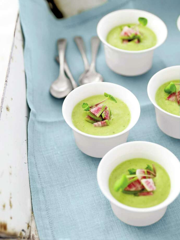 Country Living recipe for Cold Avocado Soup. Photo: Tina Rupp / ONLINE_YES