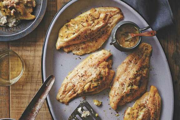 "Featured in ""Country Music's Greatest Eats,"" Louisiana Blue Crab-Stuffed Catfish Fillets are one of Zac Brown Band chef Rusty Hamlin's signature dishes."