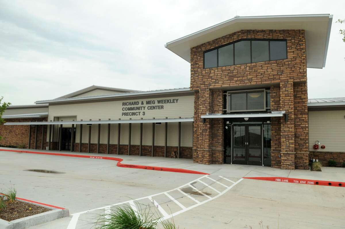 The new Richard & Meg Weekley Park and Community Center, 8440 Greenhouse Road, will be the seventh community center and park to open in Precinct 3.