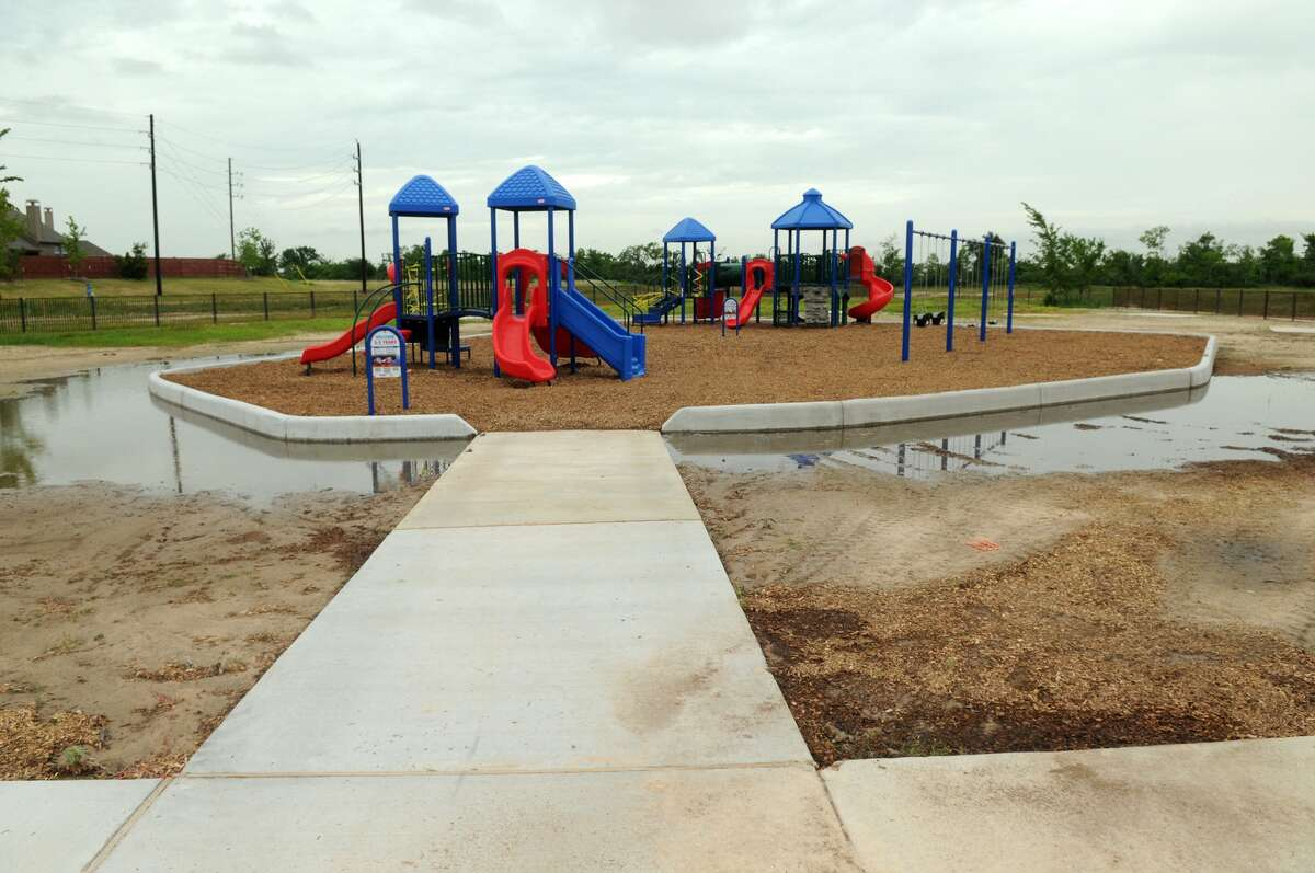The Richard and Meg Weekley Park and Community Center will have places for kids to play.