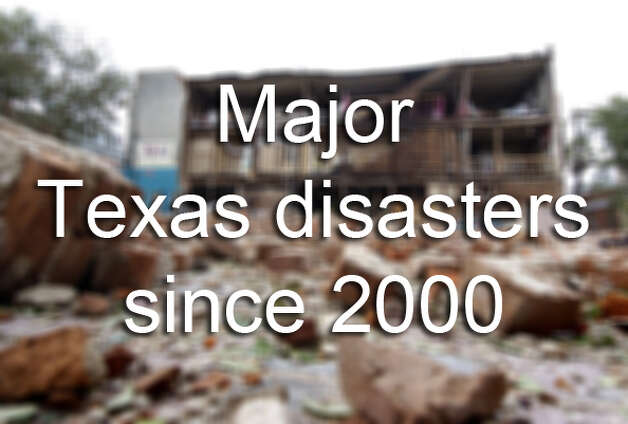 Major Texas Natural DisastersStatistics show that almost all Americans have experienced a disaster event, but many skip vital preparation plans.  Keep clicking to see the major disaster declarations for Texas since the year 2000. Photo: RJ Sangosti, G