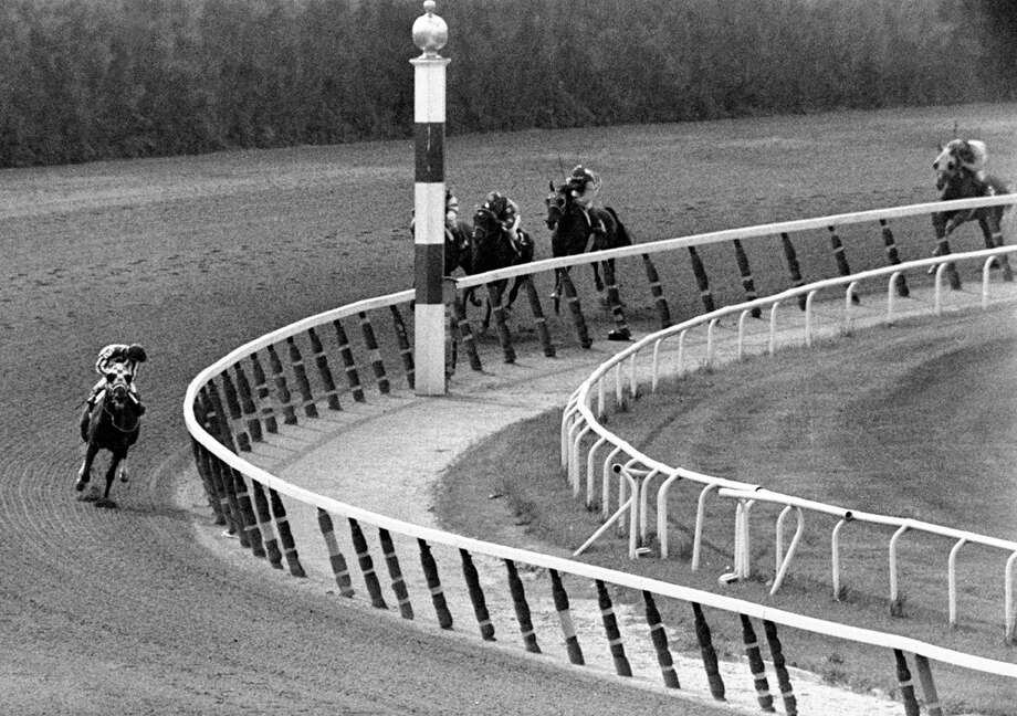 1973 Belmont StakesA horse is a horse is a horse, unless that horse is Secretariat, who completed his Triple Crown run in 1973 with an absolute stunner in the Belmont. Secretariat won by a record 31 lengths and staked his claim as the most dominant thoroughbred in history. Photo: DAVE PICKOFF, ASSOCIATED PRESS / AP1973