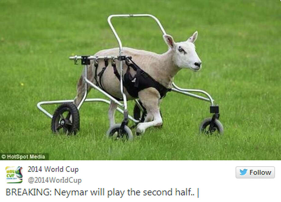Credit: Twitter @2014WorldCup Photo: Twitter