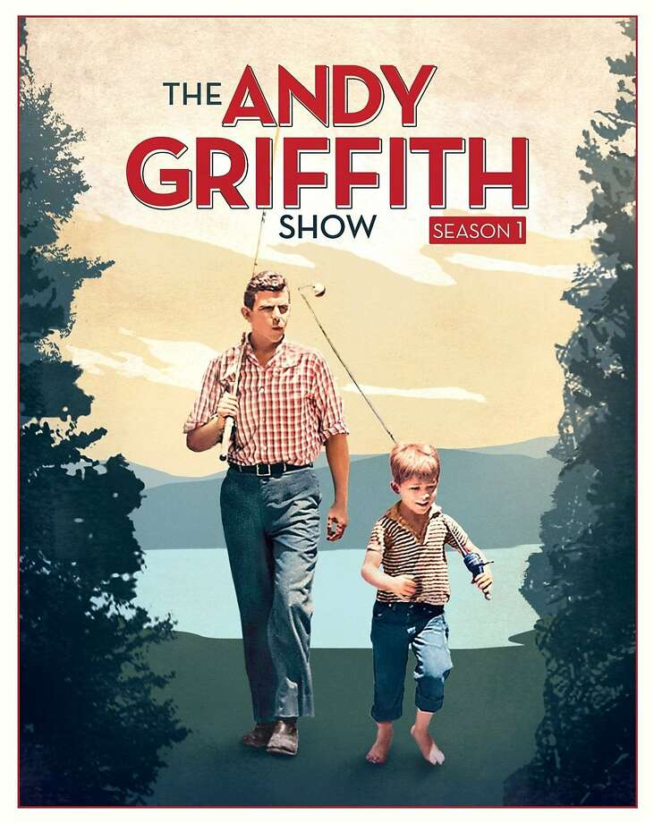 DVD cover The Andy Griffith Show: Complete First Season Photo: Universal