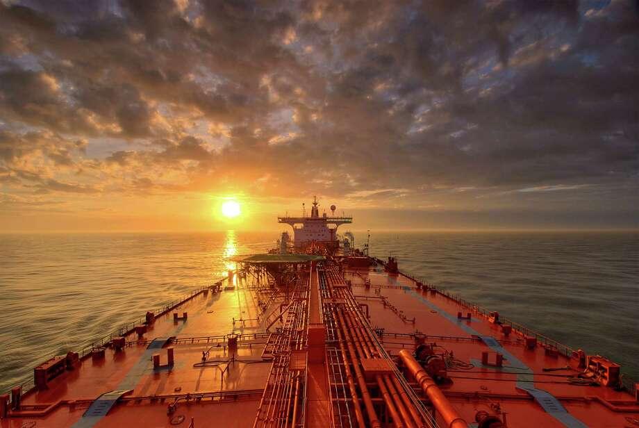 Tanker at Sunrise Photo: Louis Vest, Getty Images / Flickr Select