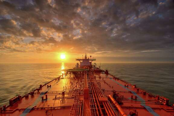 Tanker at Sunrise