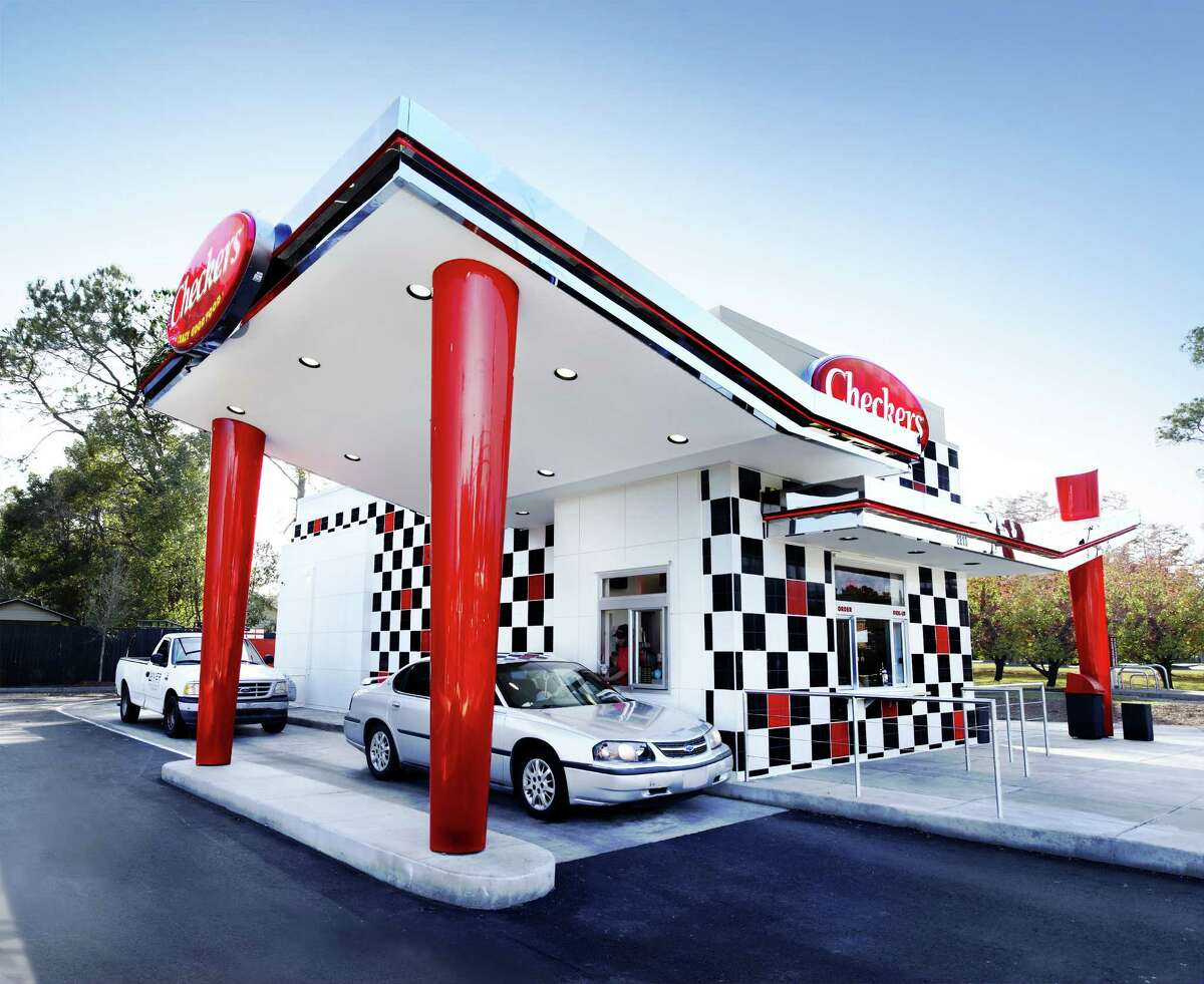 The Checkers hamburger chain is expected to open its first Houston location in December.
