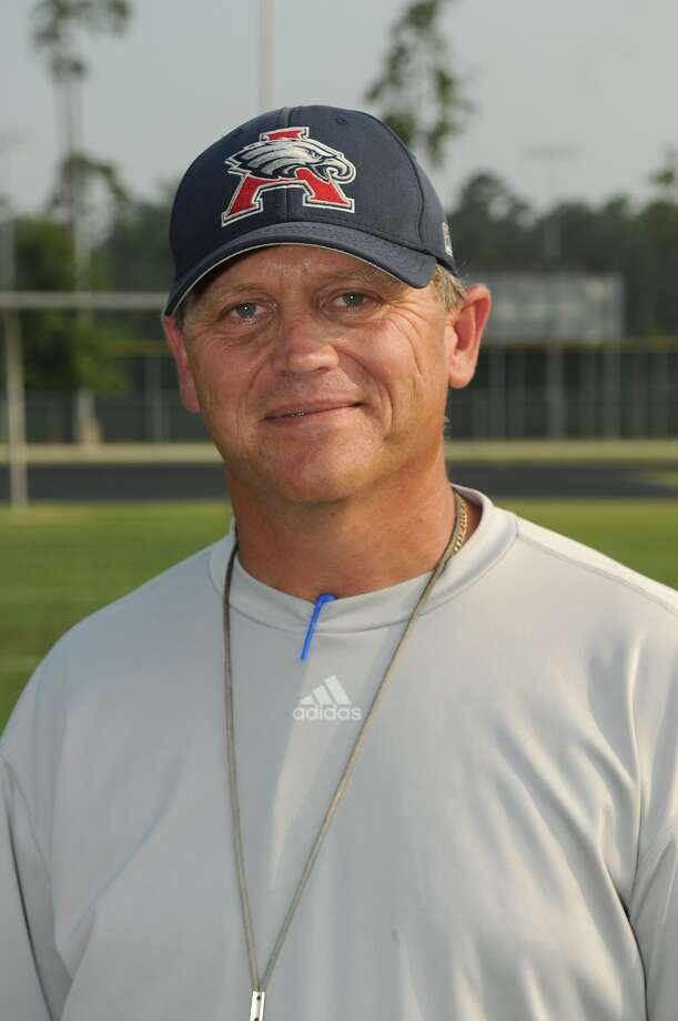 Atascocita's Craig Stump   was proud of how his players performed in 7-on-7 action. Photo: Jerry Baker, Freelance