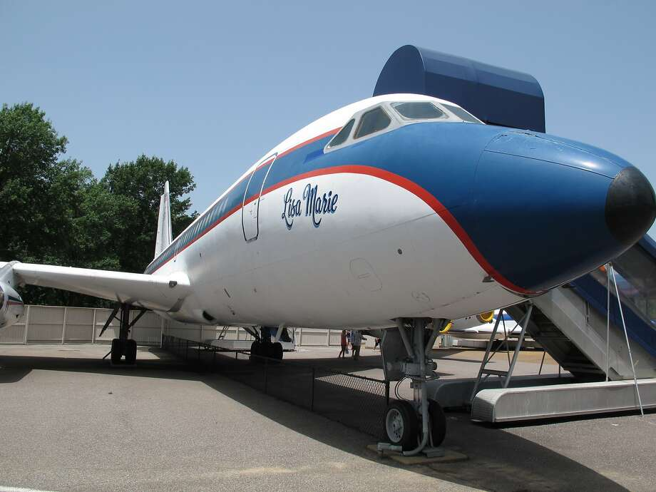 The Lisa Marie, named for Elvis Presley's daughter, is one of two planes Elvis Presley owned and are now on display at Graceland. Photo: Adrian Sainz, Associated Press