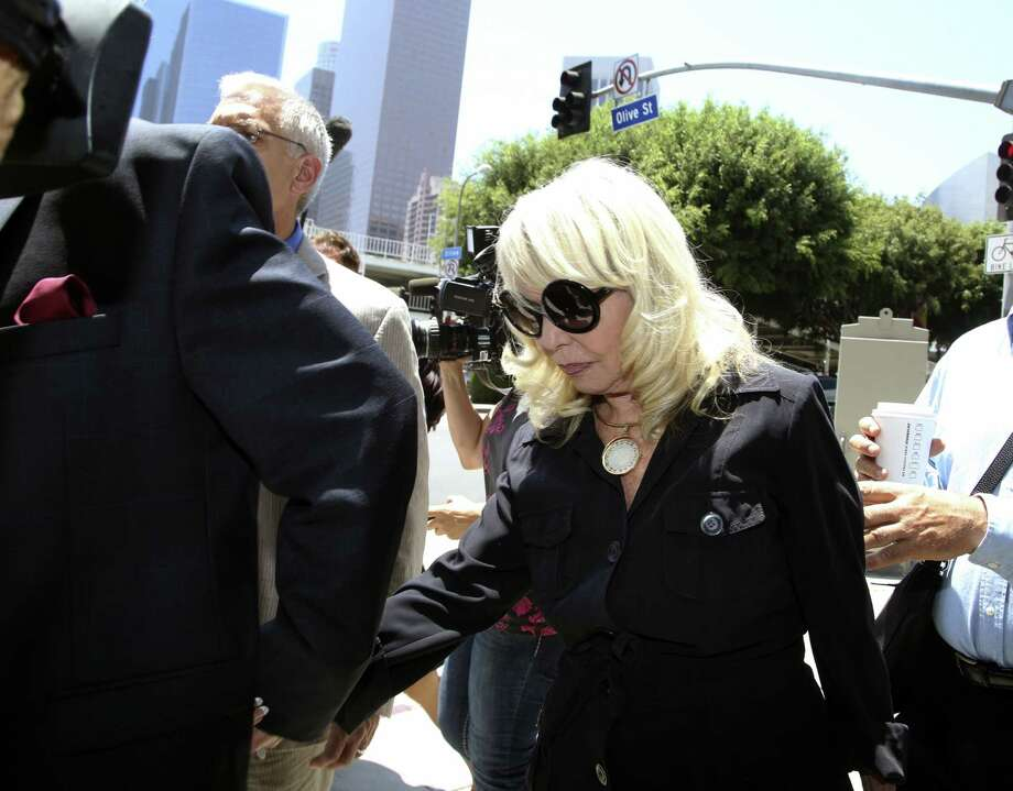 "Shelly Sterling, the wife of Clippers owner Donald Sterling, is ""afraid of this big NBA that's trying to take everything away,"" her husband said in court. Photo: Nick Ut / Associated Press / AP"