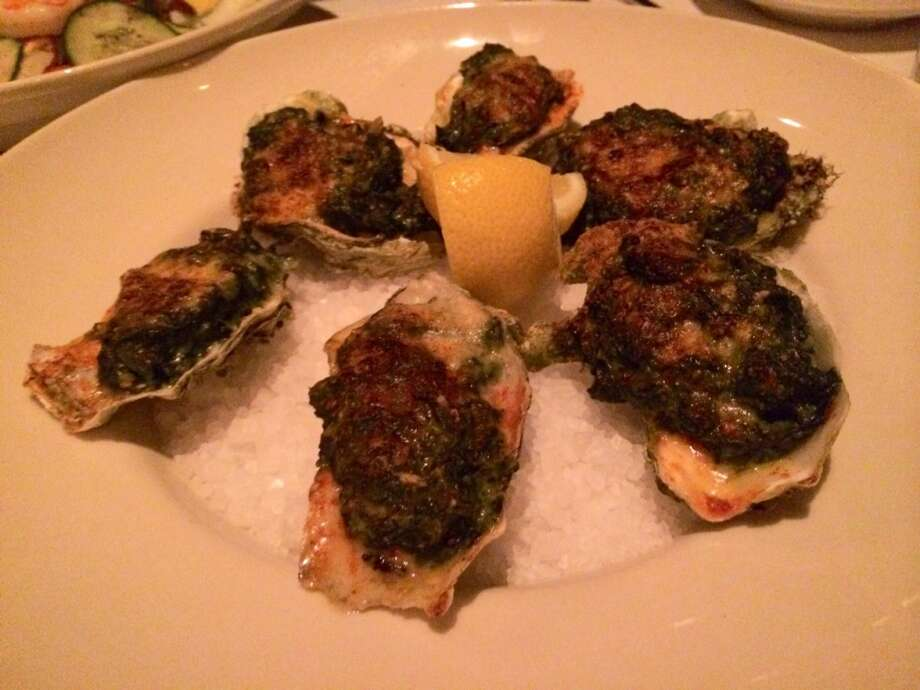 Oysters Rockefeller were dry on my visit.
