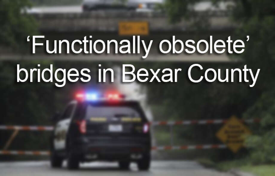 "There are 13 bridges within county lines that are classified as ""structurally deficient,"" and 369 are labeled ""functionally obsolete"" out of the 2,175 total bridges in the county, according to information provided by the Texas Department of Transportation. You may drive over some of these outdated structures every day."